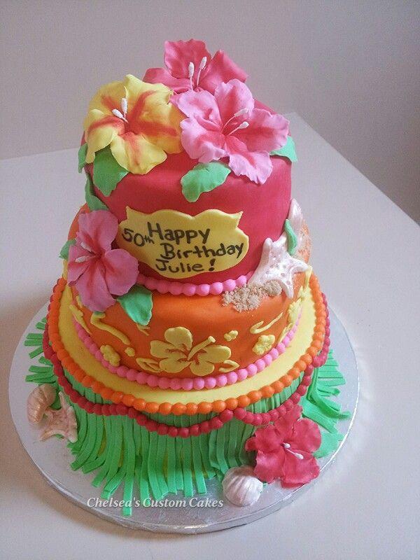 Best 25 Hawaiian Theme Cakes Ideas On
