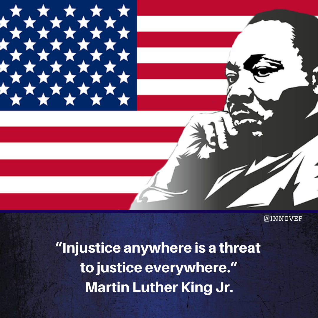 A œinjustice Anywhere Is A Threat To Justice Everywhere A Martin Luther King Jr Sundaymotivatio In 2021 Martin Luther King Jr Sunday Motivation Inspirational Words