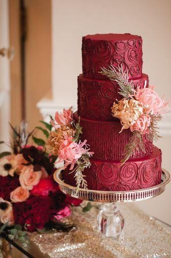 ¡Una delicia con mucho estilo! #Marsala #Cake #food #deserts #sweet #fashion #trends #luxury