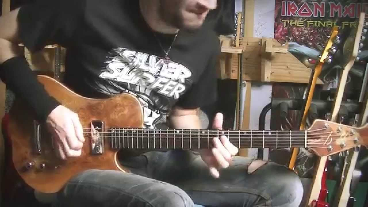Emotional solo with P90 pickups - BG guitars - Neogeofanatic