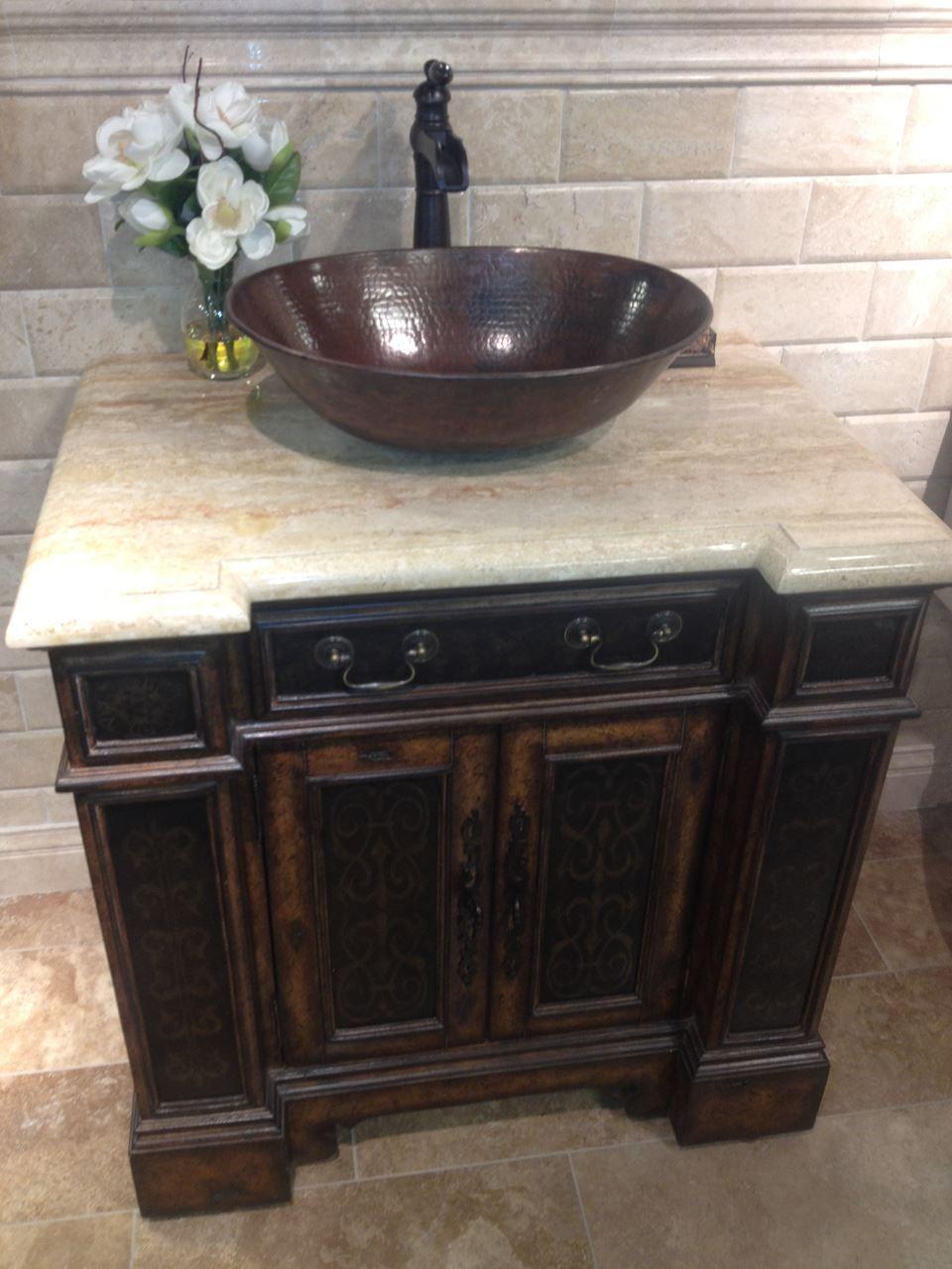 Espeso Thick Copper Oval Bath Vessel Sink Sinks Online