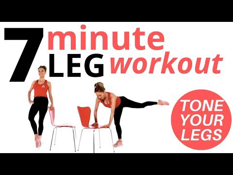 weekly workout suggestions  leg workout at home 7 minute