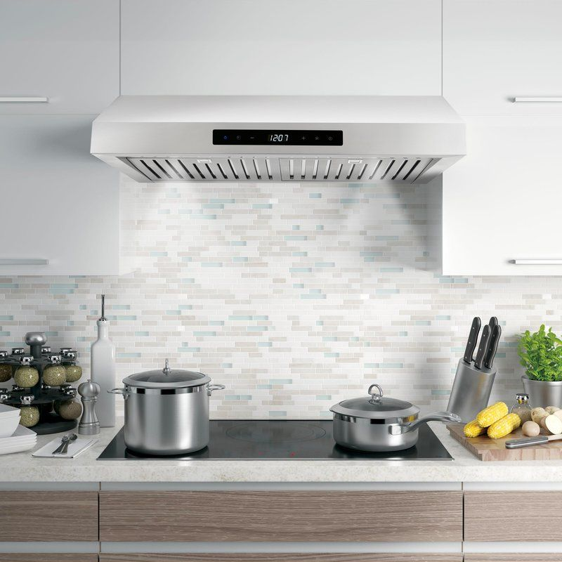 30 Cosmo 760 Cfm Convertible Under Cabinet Range Hood Kitchen Ventilation Stainless Range Hood Home Appliances