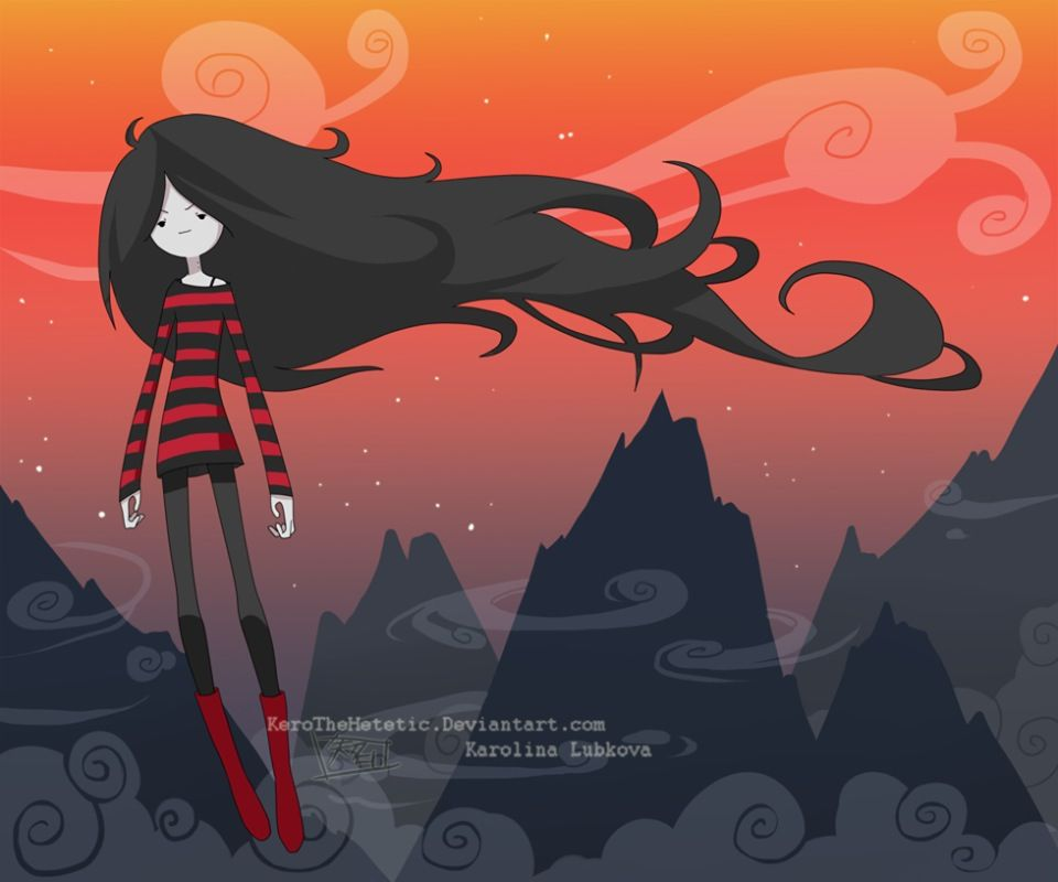 Marceline Adventure Time Art Illustrations Dessin