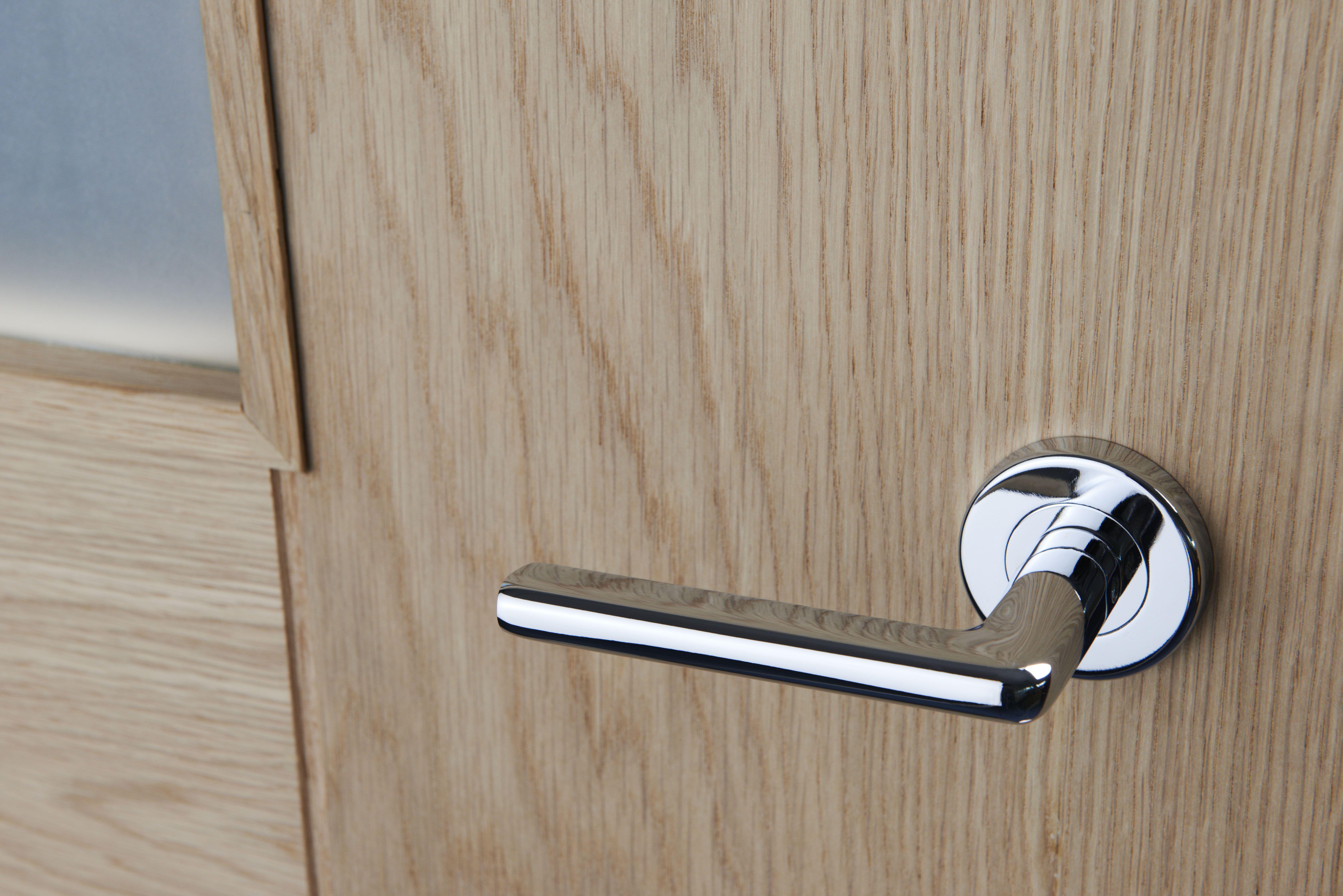 Carlisle Brass SZM200SC Serozzetta Urban Lever Door Handle on Rose satin Chrome*