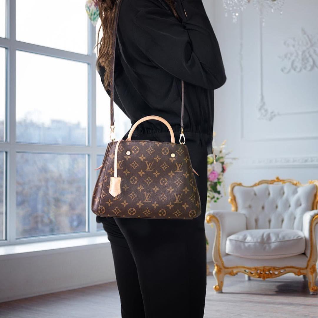 Louis Vuitton Montaigne Bb Handbag Shoudler Bag Tote Bag Louis Vuitton Louis Vuitton Neverfull Damier Vuitton Outfit