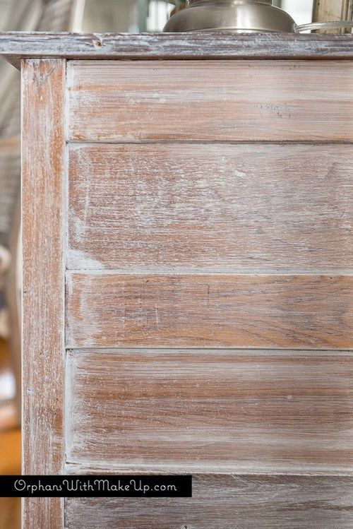 Whitewashing Furniture Is A Great Way To Revive An Old Piece Of Wooden  Furniture While Keeping