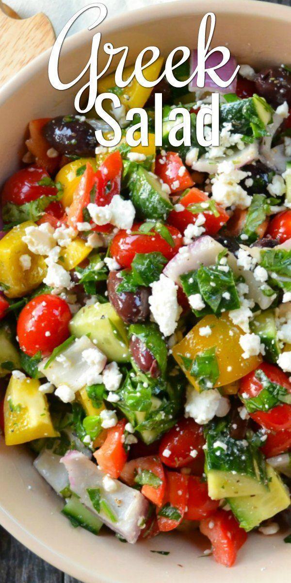 Best Easy Greek Salad