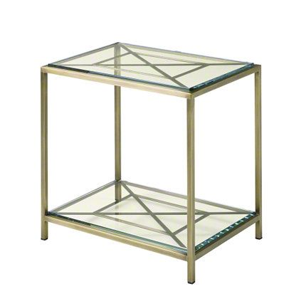 Shop For Baker Chippendale Side Table, And Other Living Room Tables At Hickory  Furniture Mart In Hickory, NC. With Its Glass Top And Shelf, This Antique  ...