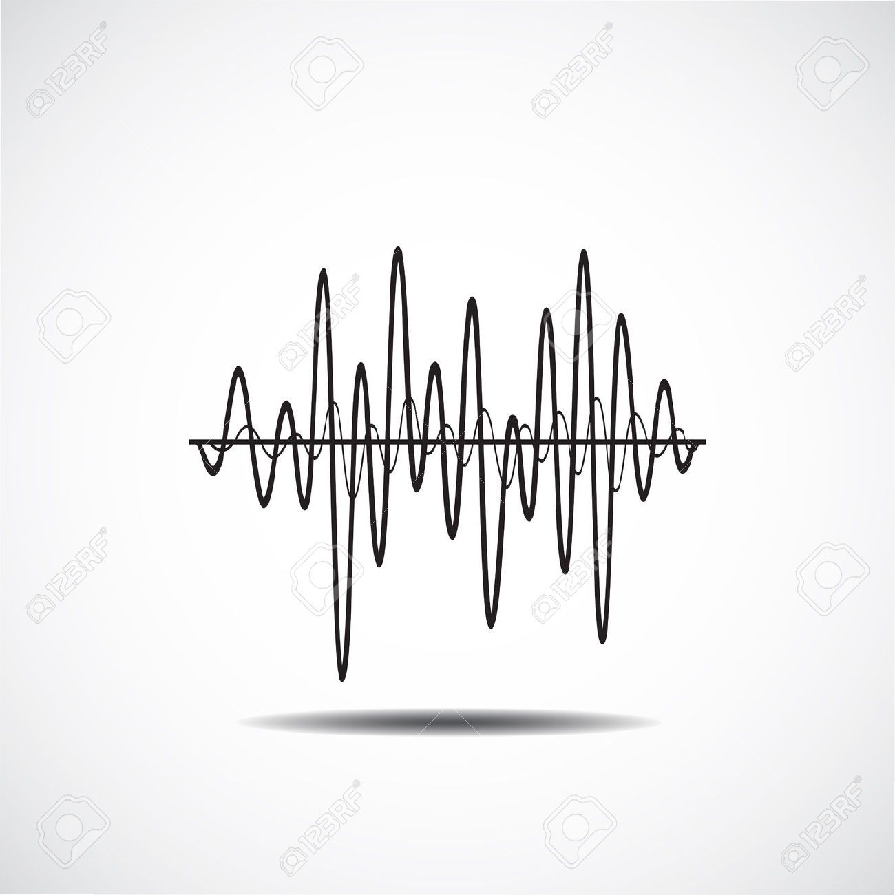 Sound Wave Icon Music Soundwave Icons Set Equalize Audio And Sound Wave Tattoo Waves Icon Sound Waves