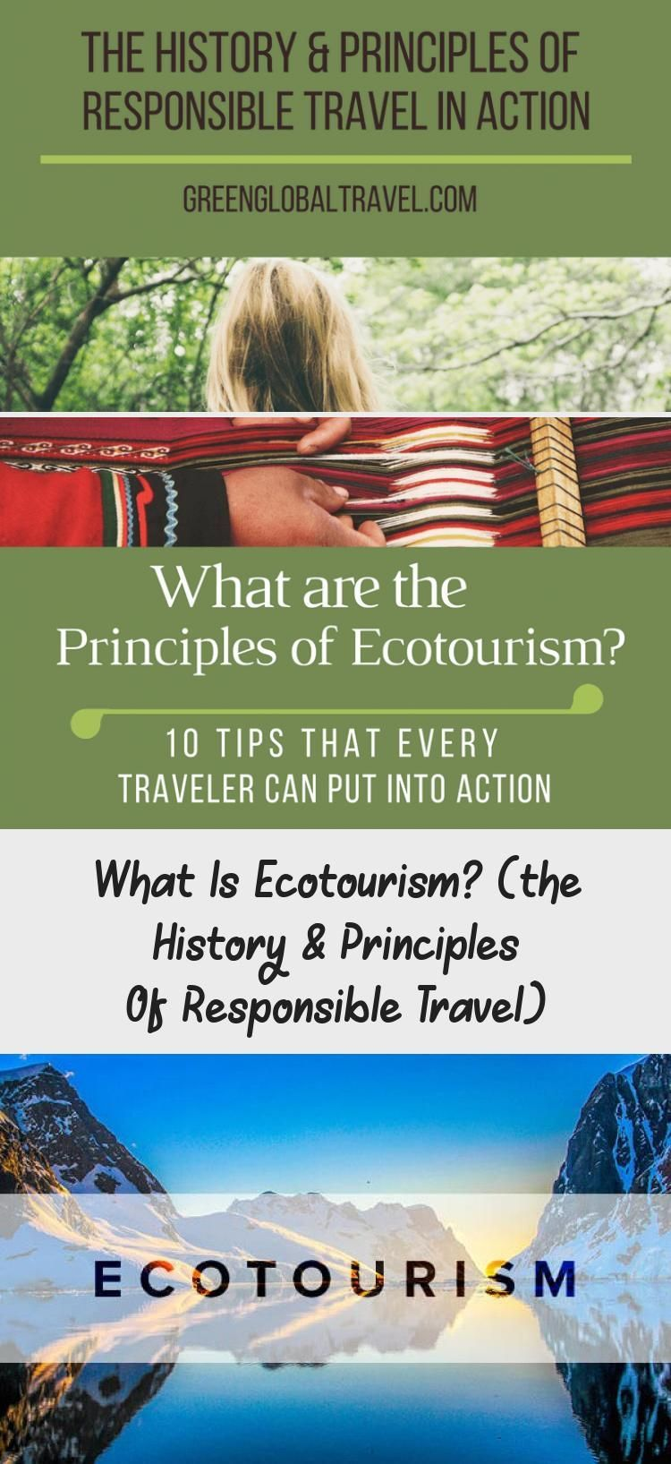 Ecotourism Was Defined In 1990 As Responsible Travel To Natural