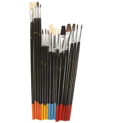 Artist Painting Brush Set 15 Natural Hair Brushes You Can Find Out More Details At The Link Of The Image Natural Hair Brush Natural Hair Art Artist Painting