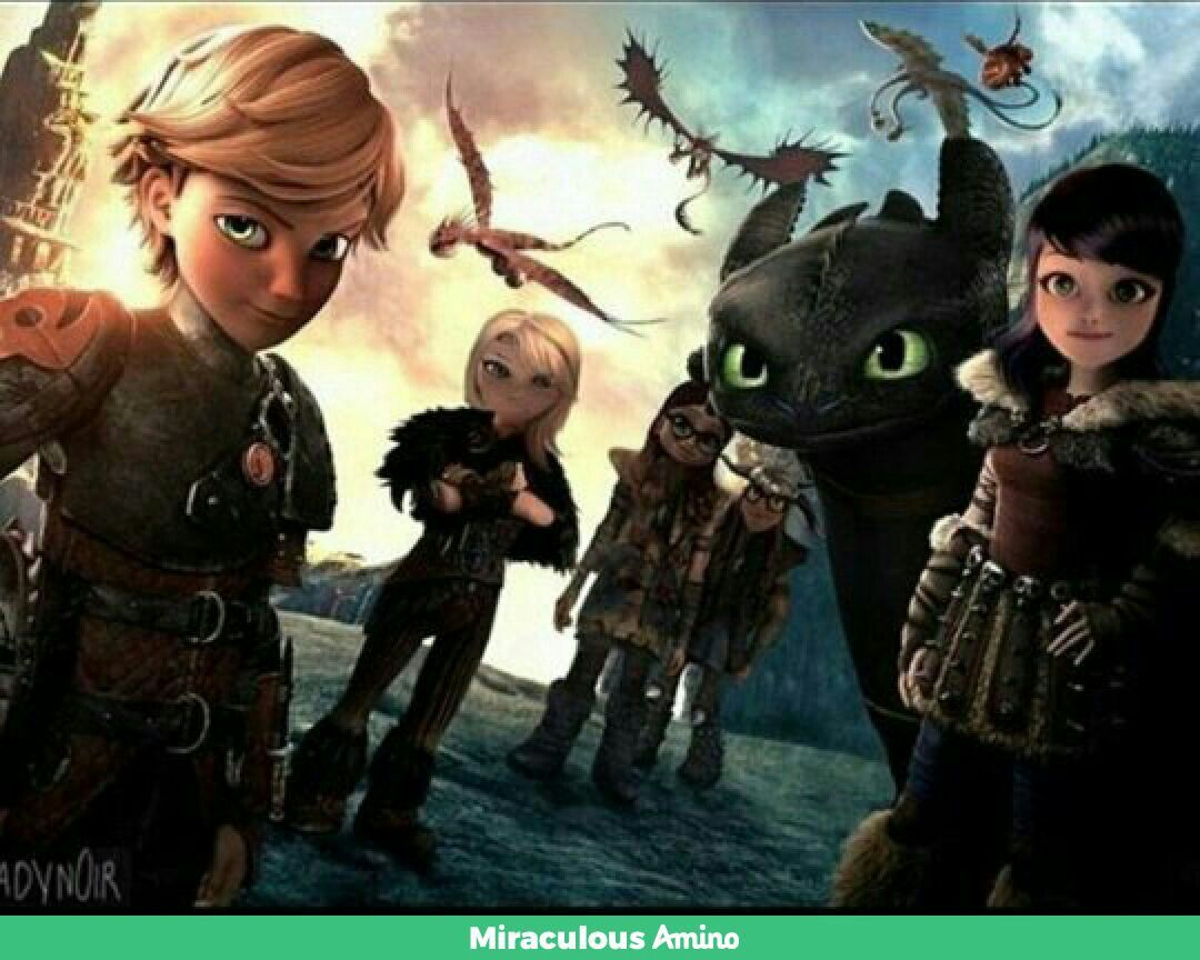 Miraculous and httyd combined | Miraculous Dragons in 2019