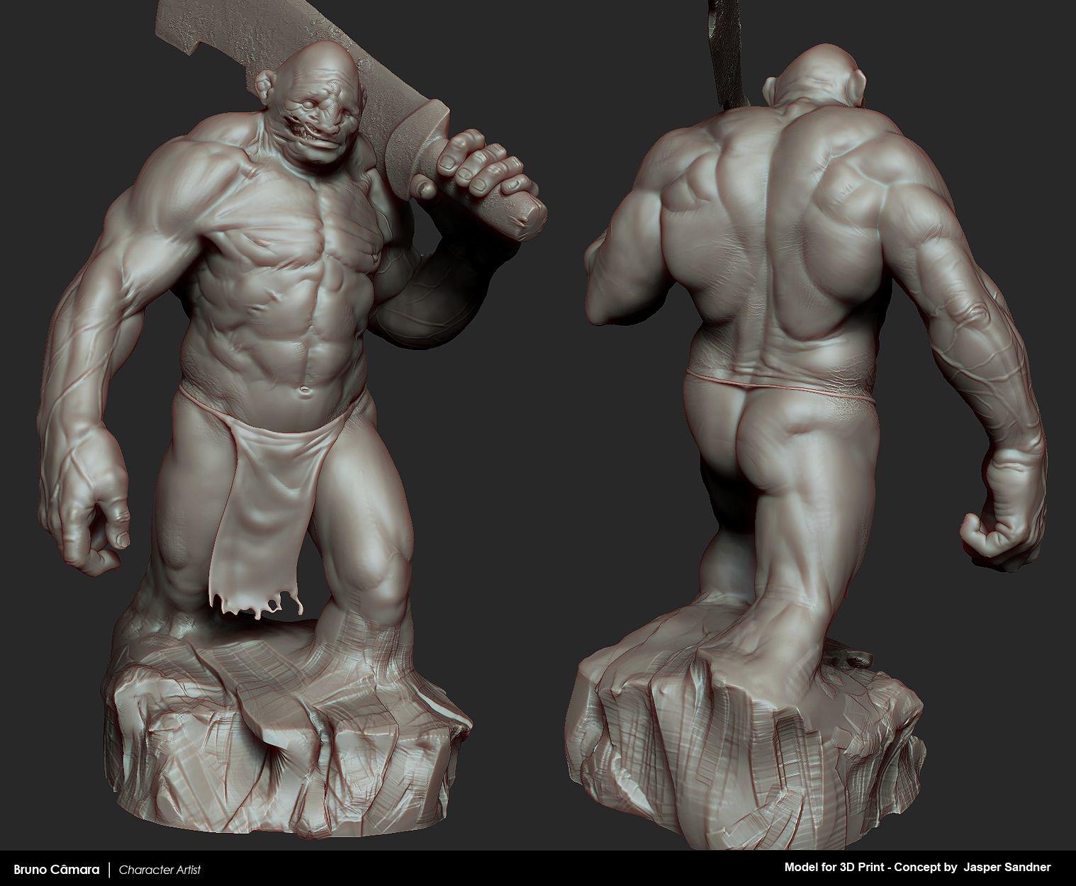 BrunoCamara_JasperSandnerKoloss_Mat2.jpg (1518×1250)   muscular body ...