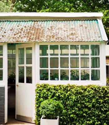 good use of recycled materials doors windows and roofing tin could also be used - Garden Sheds From Recycled Materials