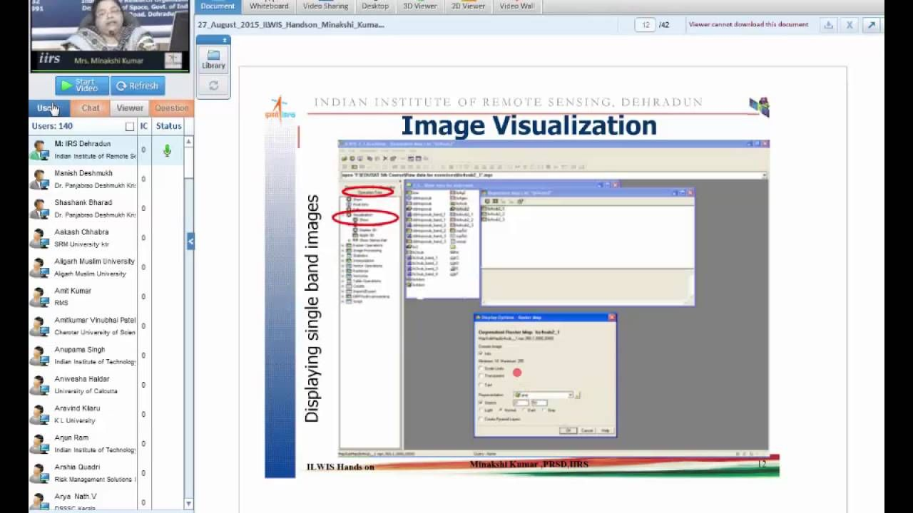 Demonstration Image Processing Software Ilwis Image Processing Remote Sensing Software