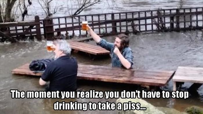 Funny beer moment.