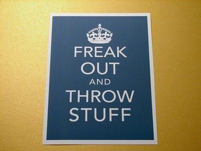 Keep Calm & Carry On with a twist