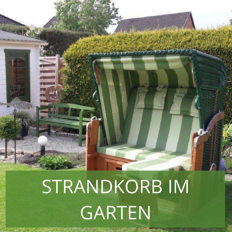 Strandkorb Im Garten Tipps Zur Aufstellung Pflege Deko Strandkorb Gartengestaltung Zen Garten