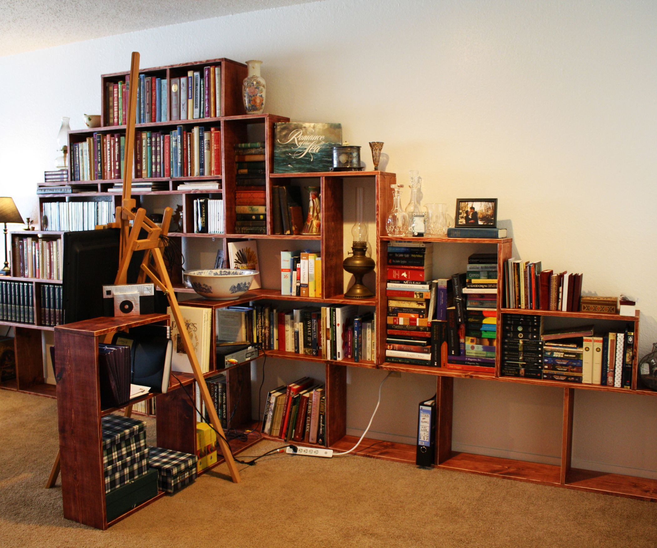 build your own bookcase best spray paint for wood furniture check rh pinterest co uk build - Build Your Own Bookshelves