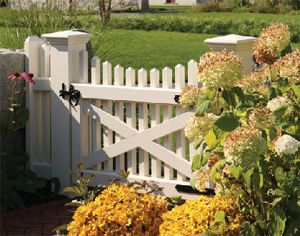 Simple Gate Entrance To Backyard; Needs To Be Extra Wide Or Double Wide;