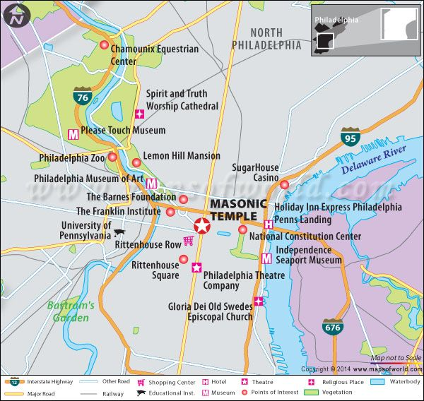 map of phila transportation, map of phila airport, map of phila restaurants, on map of phila art museum