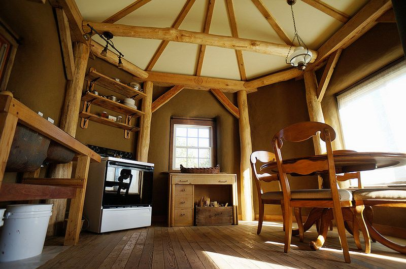 Round Pole Timber Framing Google Search Cob House Interior Timber Frame Homes Straw Bale House