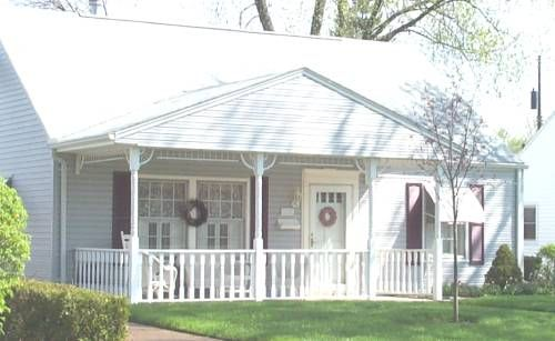 ground level porch | Porch, Front porch, Home on
