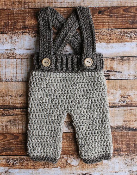 Crochet Suspender Pant set Fully by BugysHndmdeCreations on Etsy ...