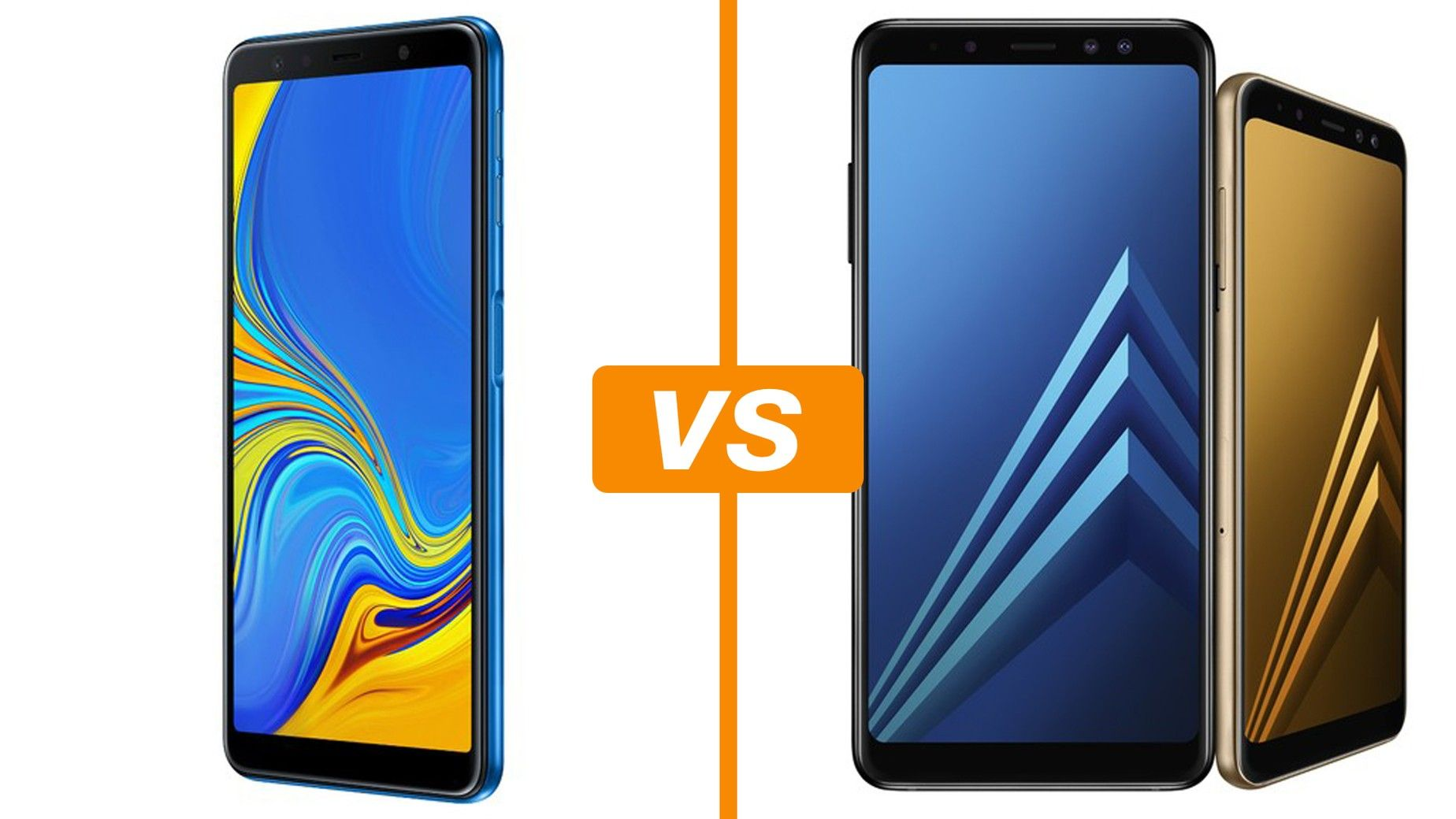 Galaxy A7 2018 X Galaxy A8 Plus Saiba Semelhancas E Diferencas