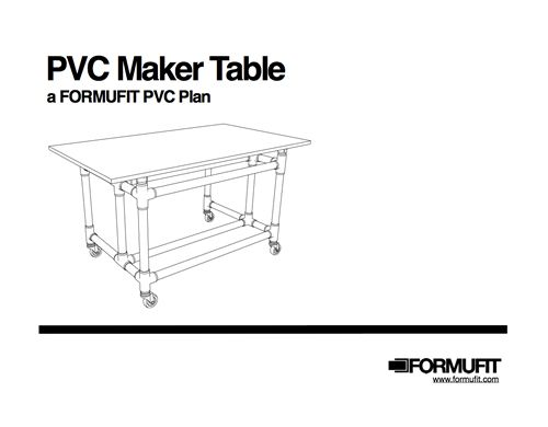 PVC Maker Bench Table Bench, Pvc projects and Pvc pipe - fresh blueprint for building a bench
