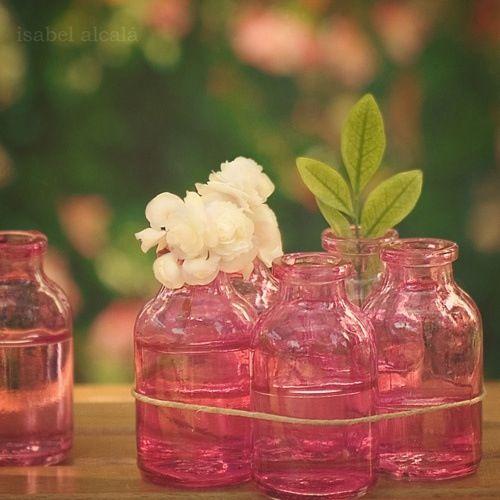 Best pink mason jars ideas on pinterest jar