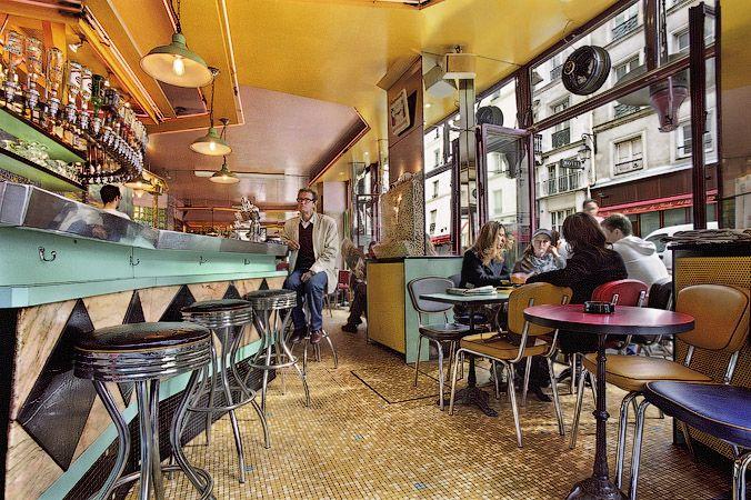 The Café Pick-Clops, on rue Vieille du Temple | Valby