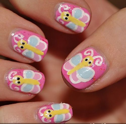 9 simple and easy nail art designs for kids easy nail art 9 simple and easy nail art designs for kids prinsesfo Gallery
