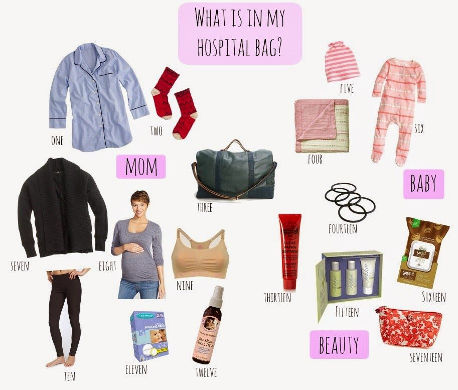 Useful items for the pregnant gals who can plan!