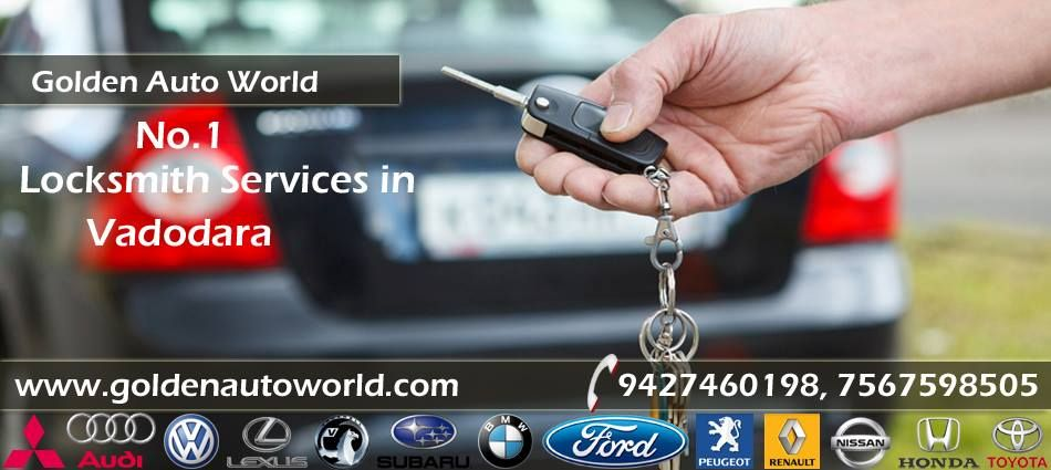 Golden Auto World Keymaker As The Name Implies Offers Locksmith Services For People In Vadodara India We S Locksmith Services Locksmith Budget Friendly