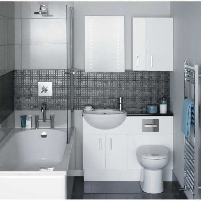 como-decorar-un-bano-pequeno-con-ducha3.jpg (640×640) | baños ... - Decoracion De Interiores Banos Pequenos