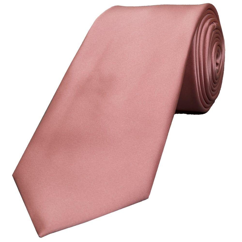 07b47cc36c69 Rose Gold Satin Classic Men's Tie | Wedding | Rose gold, Tie ...