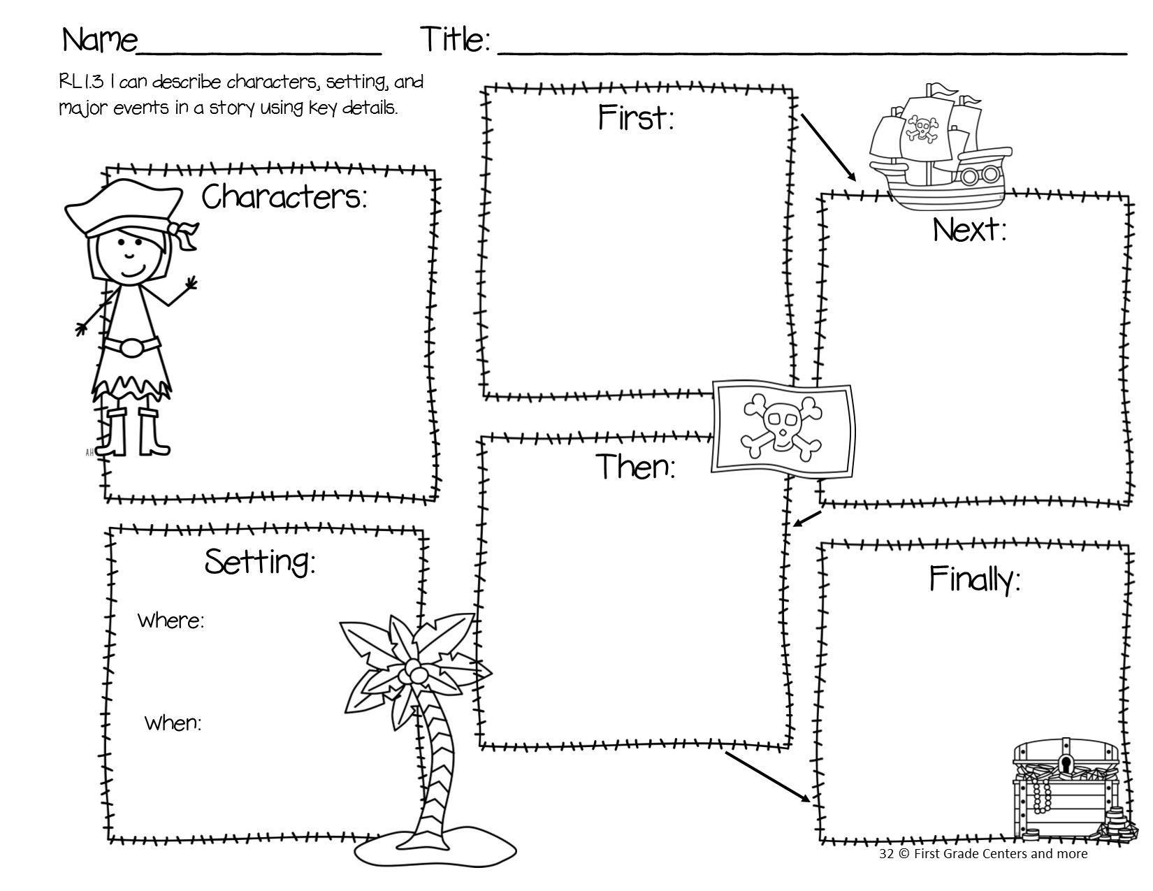 Ar Pirates Math And Literacy For Primary Students