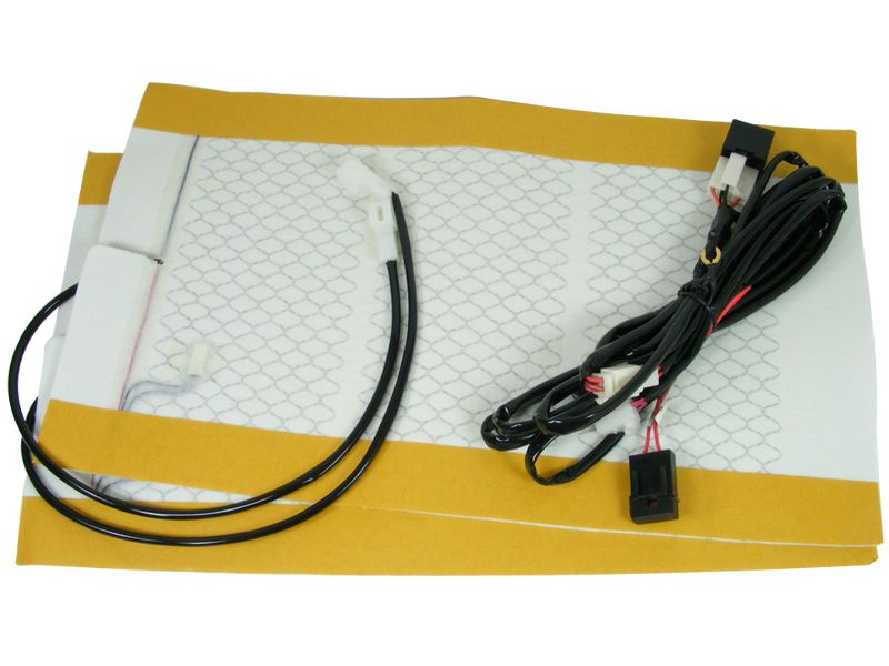 Rostra's 2501870 automotive seat heater includes two