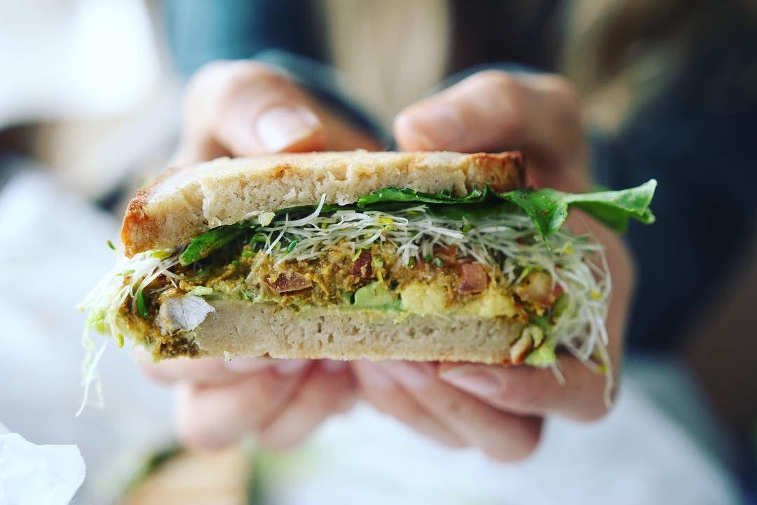Best sandwich in Ojai: the avocado melt on GF bread from ...
