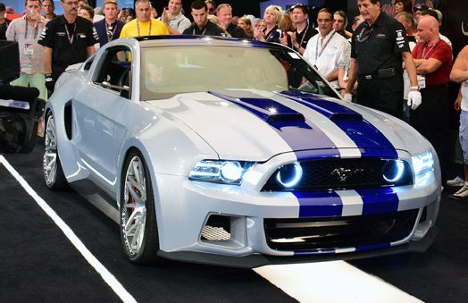 Ford Mustang From The Need For Speed Film Sells For 300 000 Carros Chidos Astas Coches