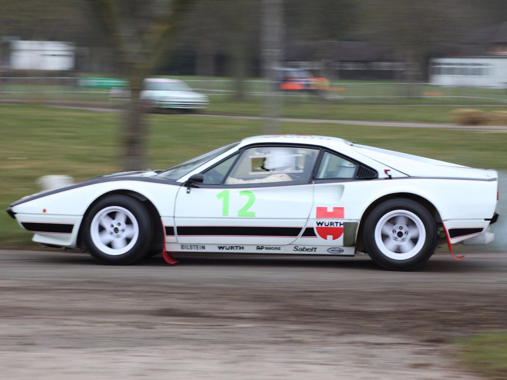 Race Retro Ferrari 288 GTO Rally car , Rally Car Wallpaper