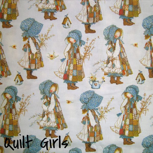 Holly Hobbie Fabric to sew - Quilt Girls - 1