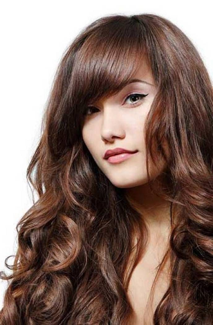 Long Hairstyles Long Haircuts For Round Faces And Thin