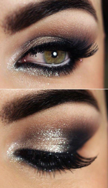 Le maquillage pour yeux marron, 51 idées en photos et vidéos!