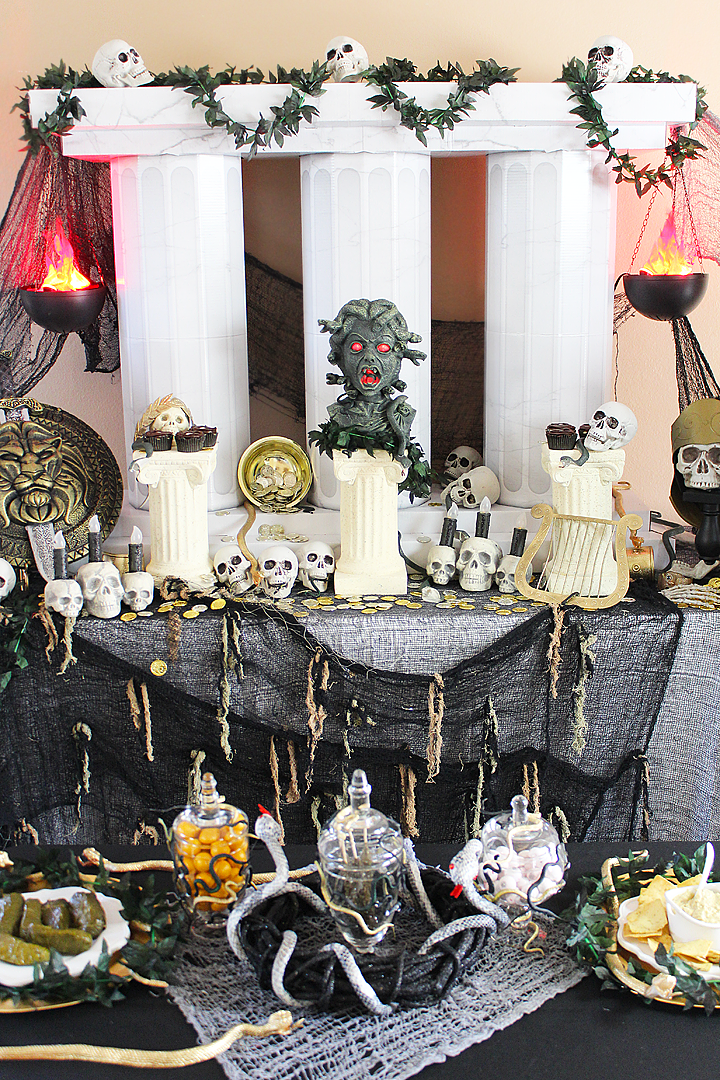 Halloween Theme Party Ideas.Greek Mythology Teen Party Idea Theme Ancient Civilizations