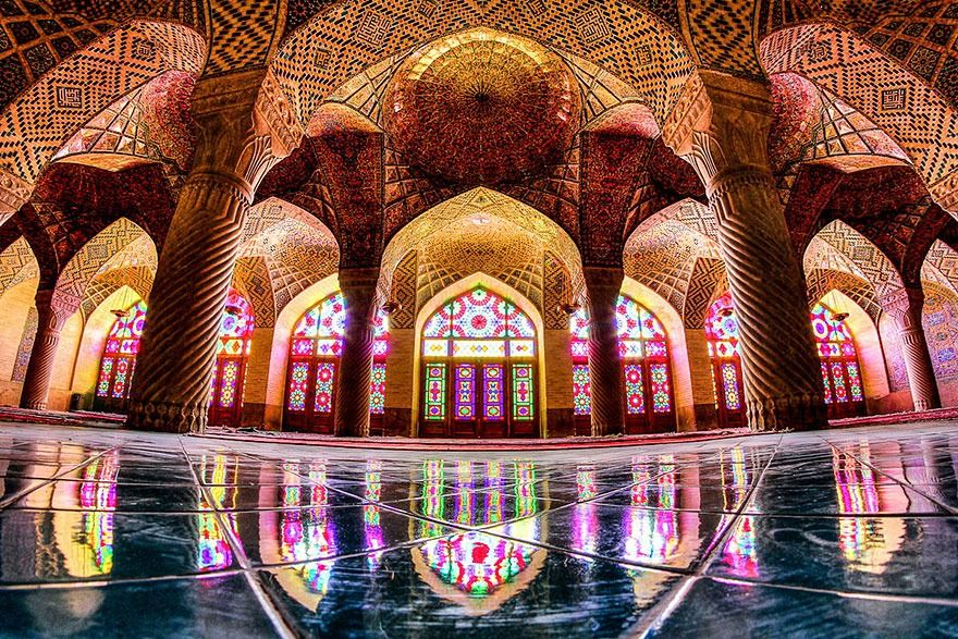 La moschea di Nasir al-Mulk, a Shiraz. - Iran