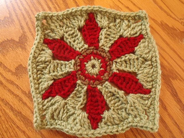 Ravelry: Elegant Floral Afghan pattern by Patons | grannys ...
