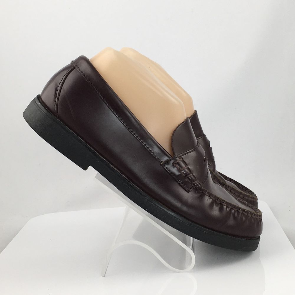 88cc8173587 Sperry Topsiders Boys Big Kid Burgundy Colton Penny Loafer Size US 5M   Sperry  DressShoes